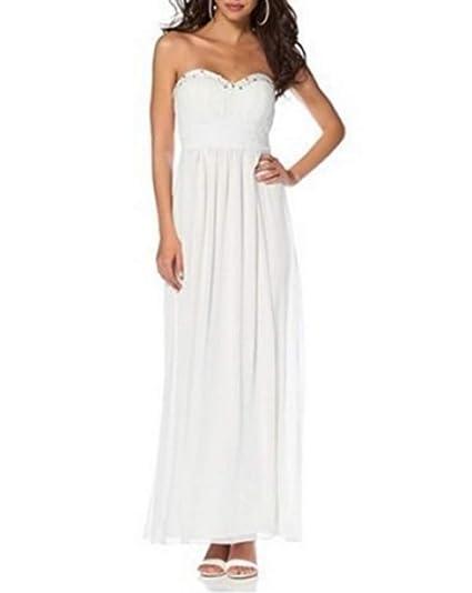 Laura Scott Kleid Abendkleid: : Bekleidung