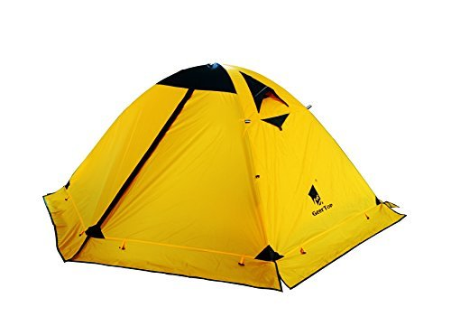 GEERTOP Zelt Kuppelzelt Campingzelt Familienzelt Trekkingzelt Aluminiumstangen Wasserdichten - 140 x 210 x 115 cm (2,59kg) - 2 Personen 4 Jahreszeiten Ideal für Camping Wandern Reisen und Klettern