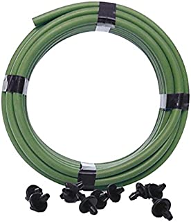 product image for Mister Landscaper MLT-S20 20ft Vinyl Green Drip Irrigation Tubing W/10 Couplers
