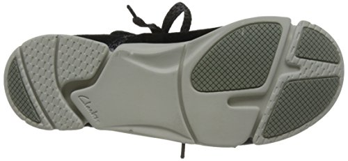 17515a2a4356 Clarks Damen Tri Amelia Sneaker Schwarz Black Combi - maarte.de