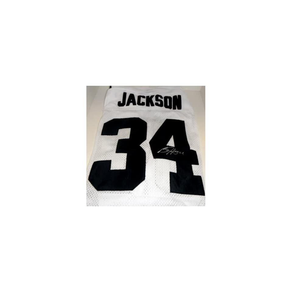 Auburn Tigers Bo Jackson Hand Signed Autographed Football Jersey   Autographed College Jerseys