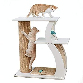 Amazon.com: SEEU - Rascador de árbol de gato de varios ...