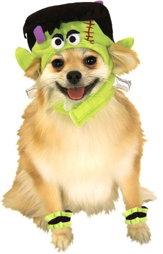 Cat Frankenstein Costume (Mini Monster Dog - Medium)