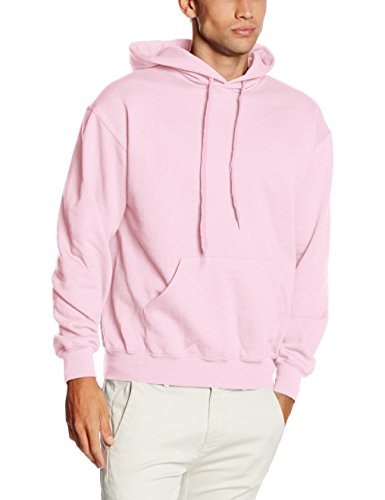 Fruit Of The Loom Mens Hooded Sweatshirt/Hoodie (S) (Light (Colored Hoodies)