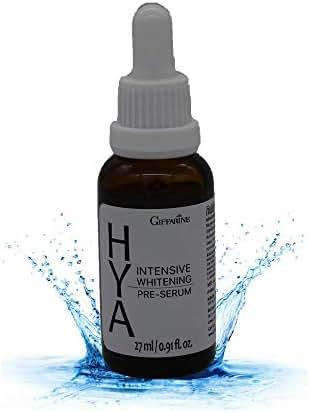 Giffarine Hya Intensive Whitening Pre-Serum,Hyaluron Plus Natural AHA For Face,Neck High-Strength,Anti-Aging Serum 27ml/0.91 oz.