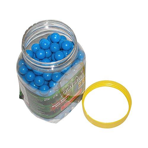 Predator .50 caliber paintballs 250 jar Splatballs BLUE splat master flexball zball