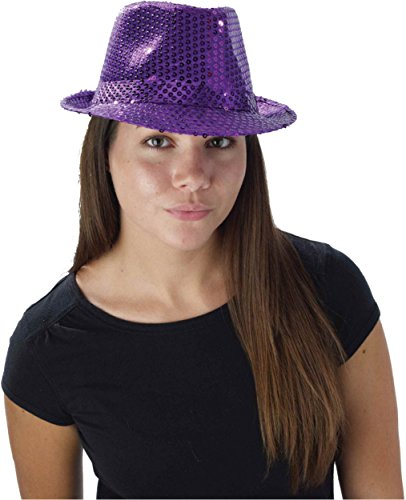 Forum Mardi Gras Costume Party Accessory, Purple, One Size Hat Mardi Gras Costume