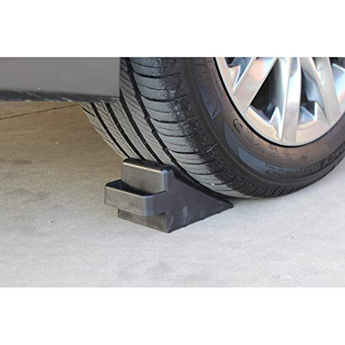 GB 2PCS of Tire Crutch Wheel Chocks for Car Truck Stopper Block Set (Large) by [GBOEM] (Image #3)
