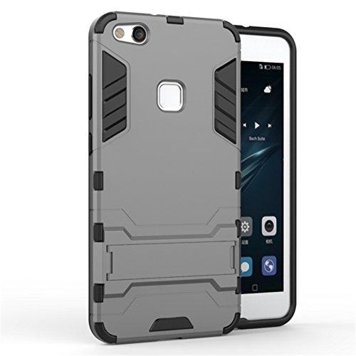 2 opinioni per Apanphy Huawei P10 Lite Cover, [Dual Layer] Protettiva Custodia Bumper Cover in