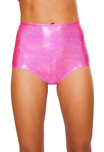 J. Valentine Women's High-Waist Short, Hot Pink, Small/Medium by J. Valentine