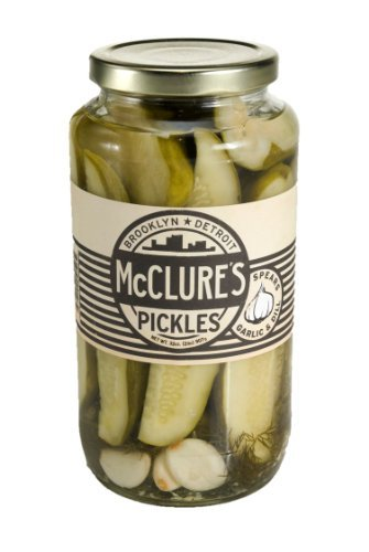 McClure's Garlic Dill Pickles 32 Ounce (Pack of 4)