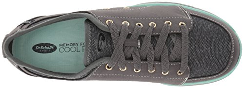 websites online Dr. Scholl's Women's Anna Fashion Sneaker Grey Twill/Fabric buy cheap Cheapest outlet visit 6N6JchnP