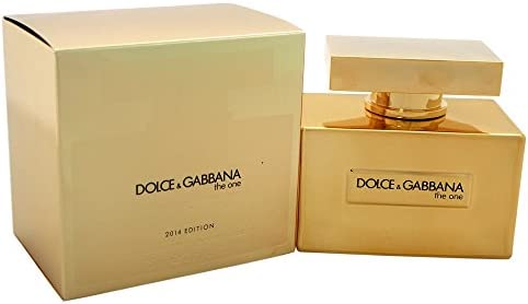 Limited Edition De Women Eau Dolceamp; Gold By For One Gabbana The xWrECBQdoe