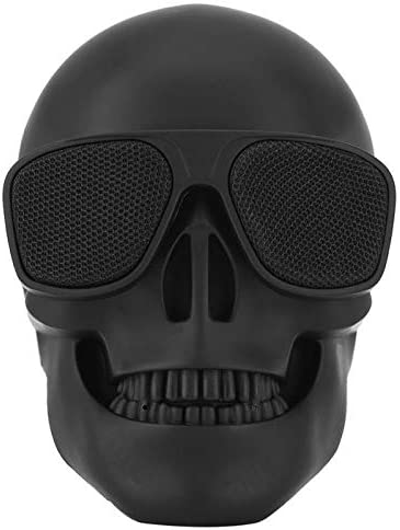 Skull Head Speaker Portable Bluetooth Speakers 9W Output Bass Stereo with  DSP Compatible for Desktop PC/Laptop/Mobile Phone/MP9/MP9 Player for