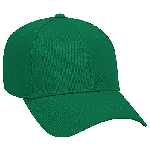 ill 6 Panel Low Profile Baseball Cap - Kelly ()