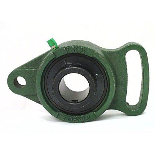 - VXB Brand UCFA207-22 Black Oxide Plated Insert Bearing Adjustable Flange Cartridge Bearing 1 3/8