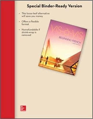 Vis a vis 5th edition workbook answers youtube.