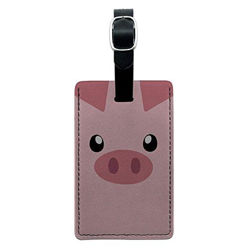 Pig Face Close up Suitcase Carry