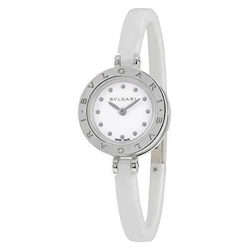 Bvlgari B Zero 1 White Dial Ceramic Ladies Watch BZ23WSCC-M