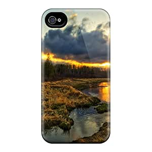 Forever Collectibles Sunset On The Marsh Hard Snap-on Iphone 4/4s Case