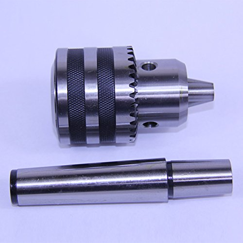 6mm 1JT Heavy Duty Ball Bearing Drill Chuck Keyed & 1JT-3MT Arbor MT3 JT1