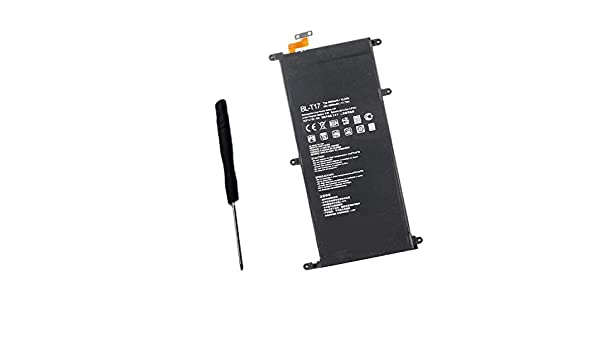 G Pad X 8.0 LTE//G Pad X 8.3 V522 VK815 V520 Powerforlaptop Internal Replacement BL-T17 EAC6278301 Battery for LG G Pad III 8.0