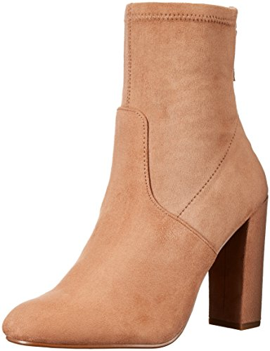 Steve Madden Stevige Round Textiel Fashion Ankle Boots Camel