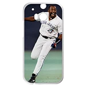 MLB&HTC One M8 White Toronto Blue Jays Gift Holiday Christmas Gifts cell phone cases clear phone cases protectivefashion cell phone cases HABC605584833