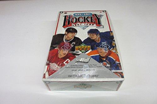 1991/92 Upper Deck Hockey Low Series Box