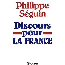 Discours pour la France (Littérature) (French Edition)
