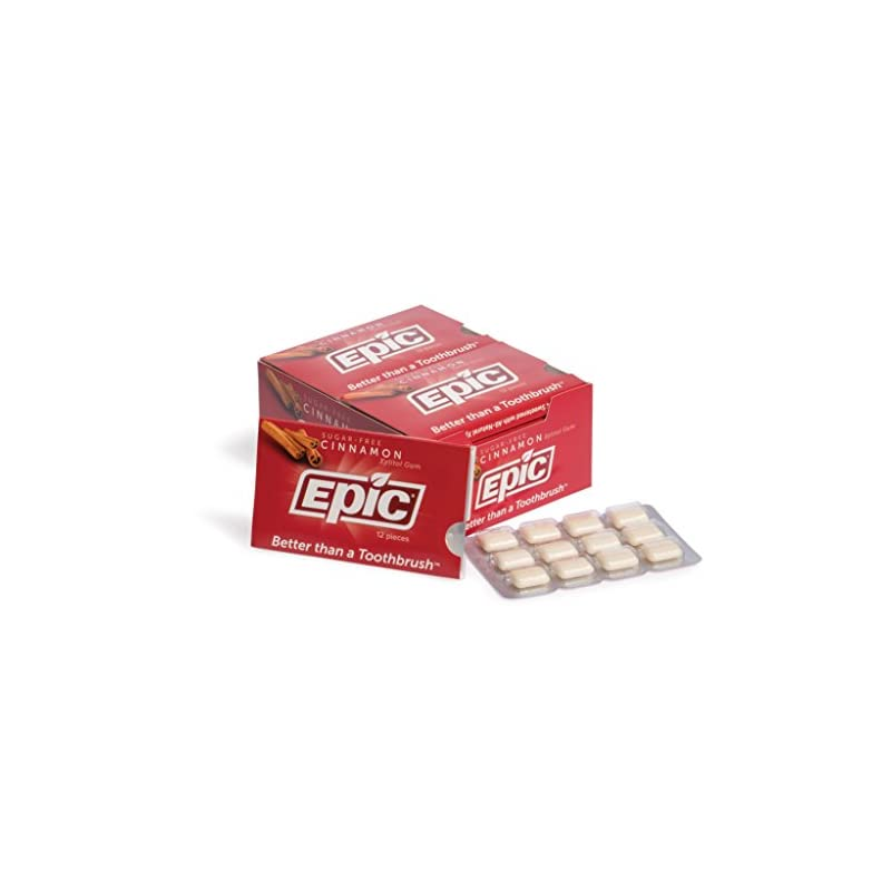Epic Xylitol Sweetened Chewing Gum