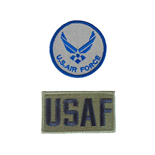 (Trooper Clothing AIR Force Flight Suit Round Patch)