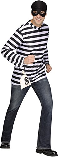 Horror Costumes For Couples (Burglar Man Costume)