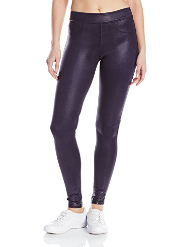 - Blanc Noir Women's London Street Pant, Midnight/Cracked Leather, Small