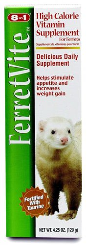 8 IN 1 - FerretVite Vitamin Paste - 4.25 oz. (120 g)