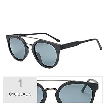 TIANLIANG04 Gafas De Sol En Madera Hoja De Acetato Gafas De Sol Retro Tendencia Anti-