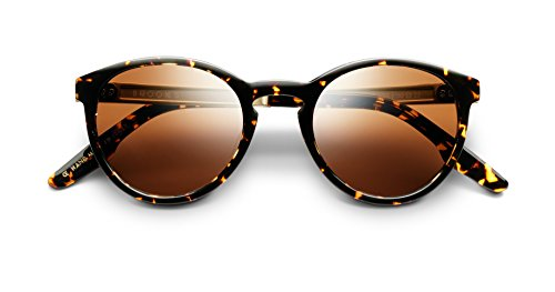 rcomb Tortise Frames With Brushed Gold and Bronze Lenses ()