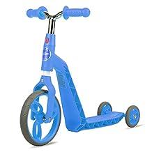 Vokul Gh05 Mini Kick Kids Scooter Big Wheel-Age 2-5 Years, Height 95-120cm Blue