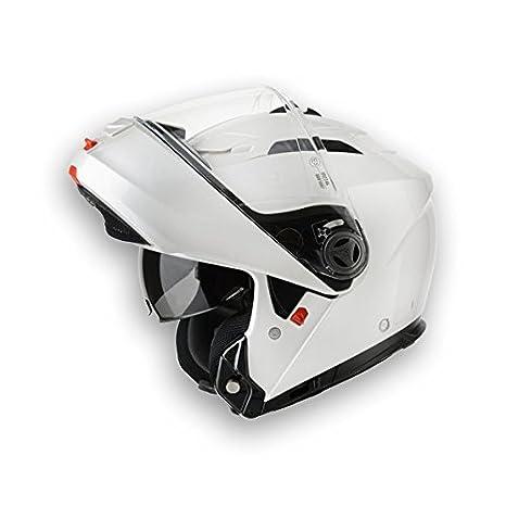 58-M Bianco Airoh Casco Flip-Up
