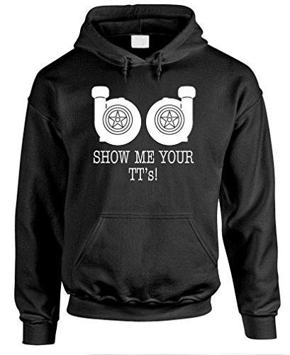 Show ME Your TTS - Funny car Meme - Mens Pullover Hoodie, L, - Hoodie Car