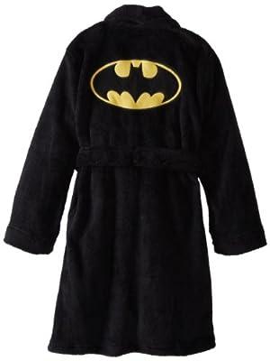 Komar Kids Little Boys' Batman Fleece Bathrobe