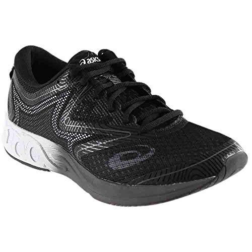 ASICS Mens Noosa FF Running Shoe Black White/Carbon 9 Medium US