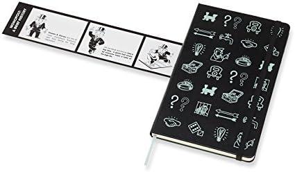 Moleskine LEMOQP060 - Libreta de edición limitada Monopoly, grande a rayas iconos (EDITION LIMITEE): AA.VV.: Amazon.es: Oficina y papelería