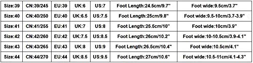 Sunsee-Men Shoes Men's Summer Hollow Mesh Breathable Sneakers Non-Slip Wear-Resistant Sneakers (40/US 7.5, Yellow) by MEN SHOES BIG PROMOTION-SUNSEE (Image #7)