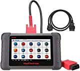 Autel MaxiCheck Maxicom OBD2 Diagnostic Scanner MX808(Advanced MD808 Pro Same MK808) With 5ft Extension Cable Full Systems And Service Functions Oil Reset EPB BMS SAS DPF TPMS Relearn IMMO