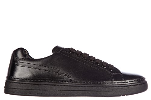 Prada men's shoes leather trainers sneakers nevada calf black cheap many kinds of cheap sale purchase SJFrl4JfrP