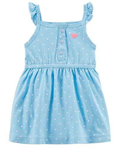 Carter's Girls' Jersey Dress (6 Months, ()