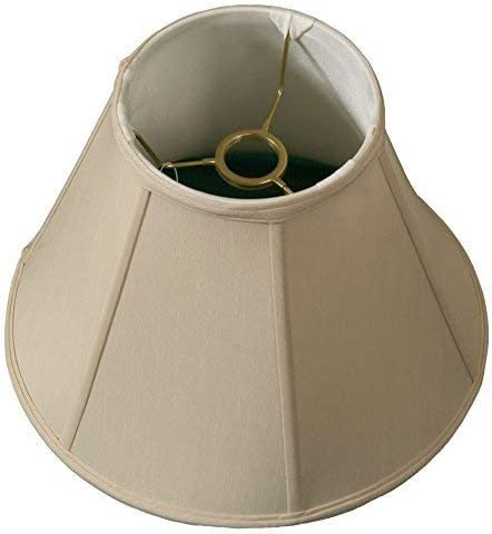 Royal Designs deep Empire Lamp Shade, Beige, 6 x 12 x 9.25, UNO Floor Lamp