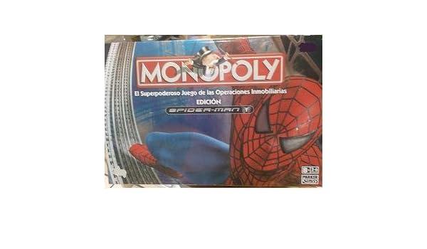 Hasbro Monopoly Spiderman 3: Amazon.es: Juguetes y juegos