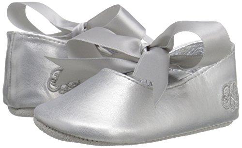 Ralph Lauren Layette Briley Ballet (Infant/Toddler), Silver/Metallic, 3 M US Infant - Image 6